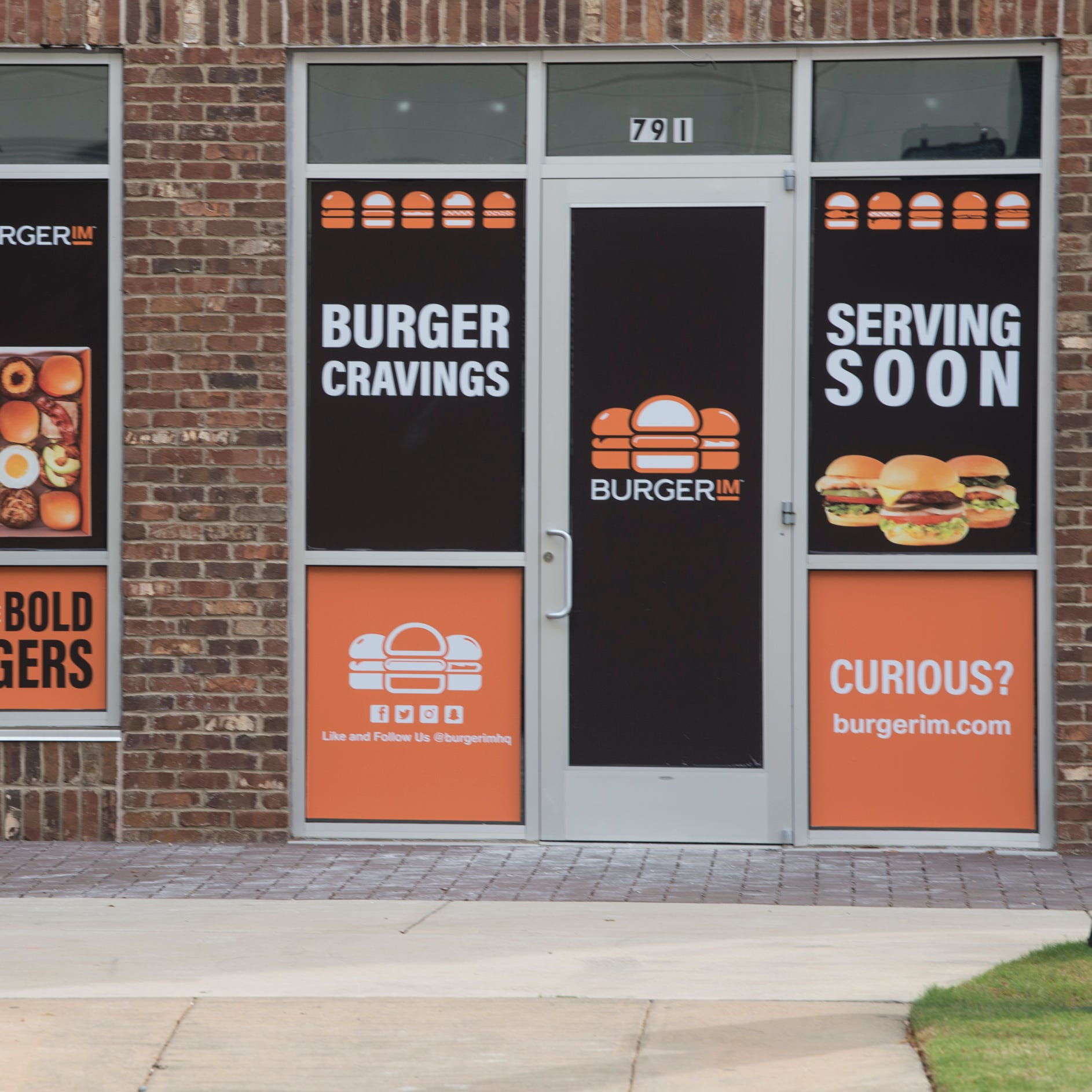 BurgerIM under construction at its new location at the intersection of Lee and Bibb Streets in downtown Montgomery, Ala., on Tuesday, Oct. 23, 2018.