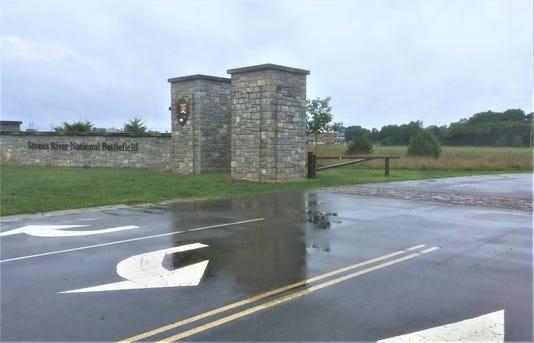 Battlefield entrance