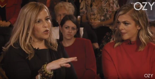 """Former Nashville Nashville Mayor Megan Barry and conservative commentator Allie Beth Stuckey on """"White Women in Nashville,"""" the second episode of OZY's newest series, """"Take on America""""' The episode premiers Wednesday night."""