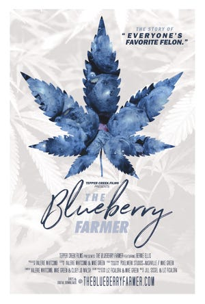 """The Blueberry Farmer, a documentary about how Bernie Ellis """"reinvented"""" himself after facing charges for growing and providing marijuana for medicinal use, aims to start conversation about legalization. Brad Cooper designed the graphics for the Tepper Creek Farms film."""