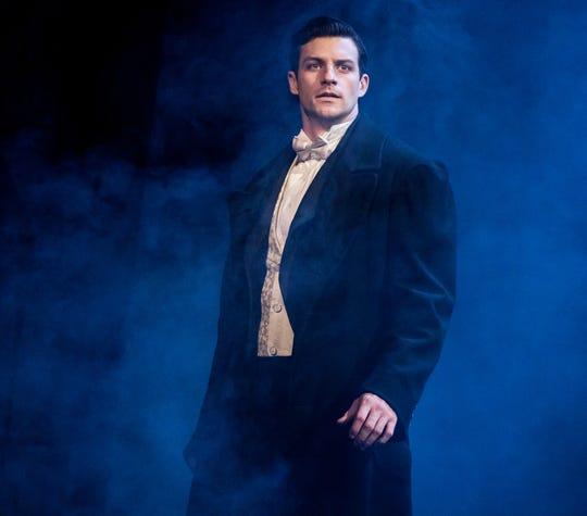 """Sewanee graduate Jordan Craig as Raoul in """"The Phantom of the Opera."""""""