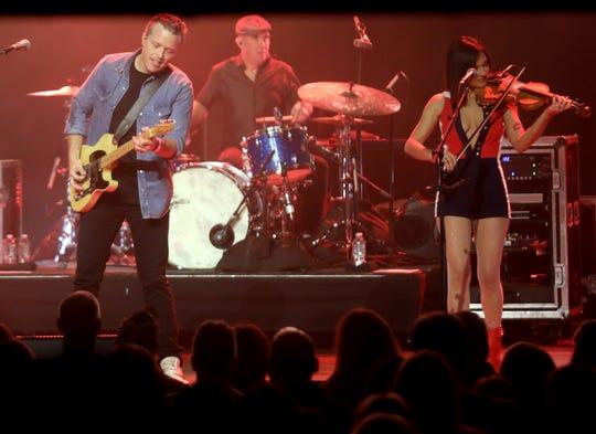 Jason Isbell performs at the Ryman Auditorium on Oct. 22, 2018.