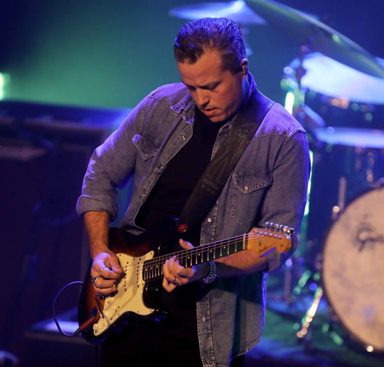 Jason Isbell performs at the Ryman Auditorium Monday, October 22, 2018.