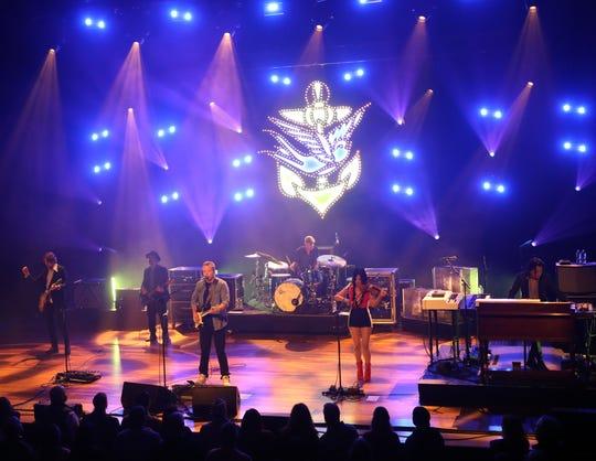 Jason Isbell performs at the Ryman Auditorium Monday, October 22, 2018.