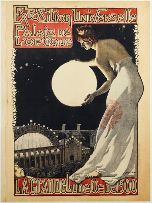 Exposition Universelle Palais De L Optique La Grande Lunette De 1900 Titre Inscrit