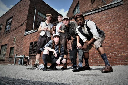 "This is the final weekend of performances for ""Newsies"" at Chaffin's Barn."