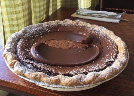 Chocolate pie by The Artist Baker in Morristown