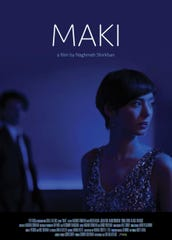 "Movie poster for ""Maki,"" a film by Naghmeh Shirkhan"