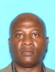 James R. Ray, the suspect wanted in connection with Tuesday's homicide in Montclair.