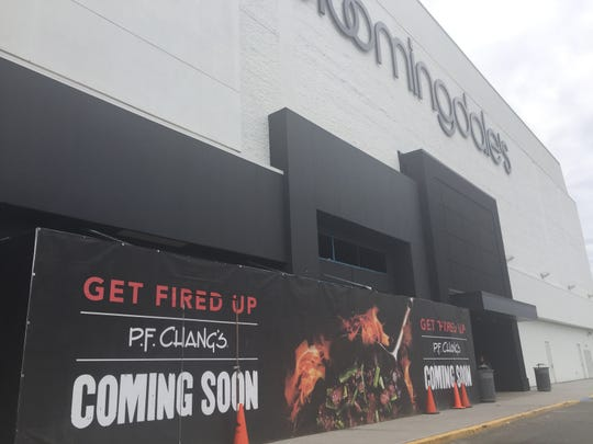P.F. Chang's will open its first restaurant in Passaic County in space that had been occupied by the Bloomingdale's department store at Willowbrook Mall in Wayne.