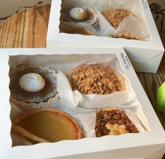 Assortment of pies by The Artist Baker in Morristown