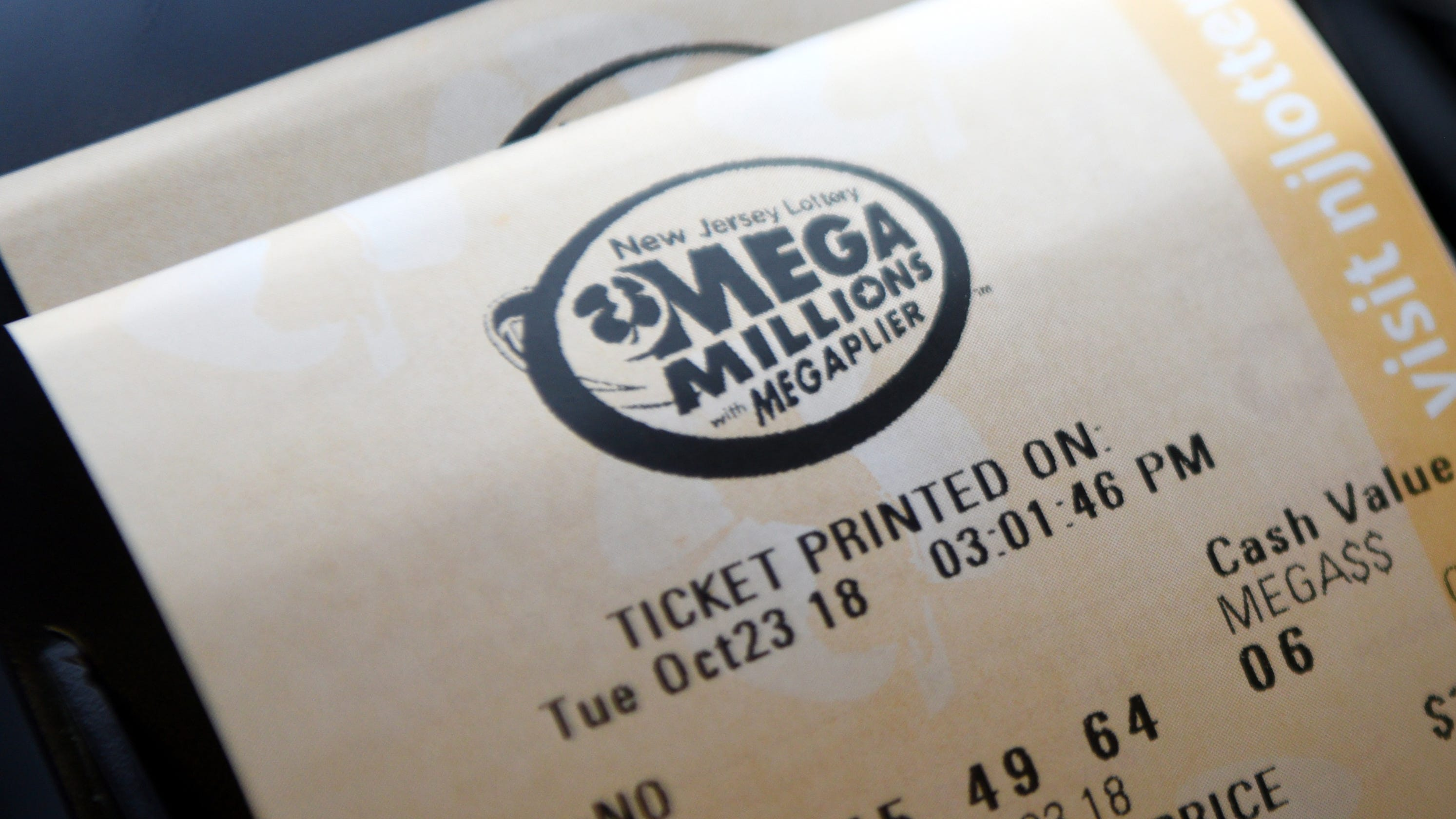 What are the odds of winning the Mega Millions jackpot