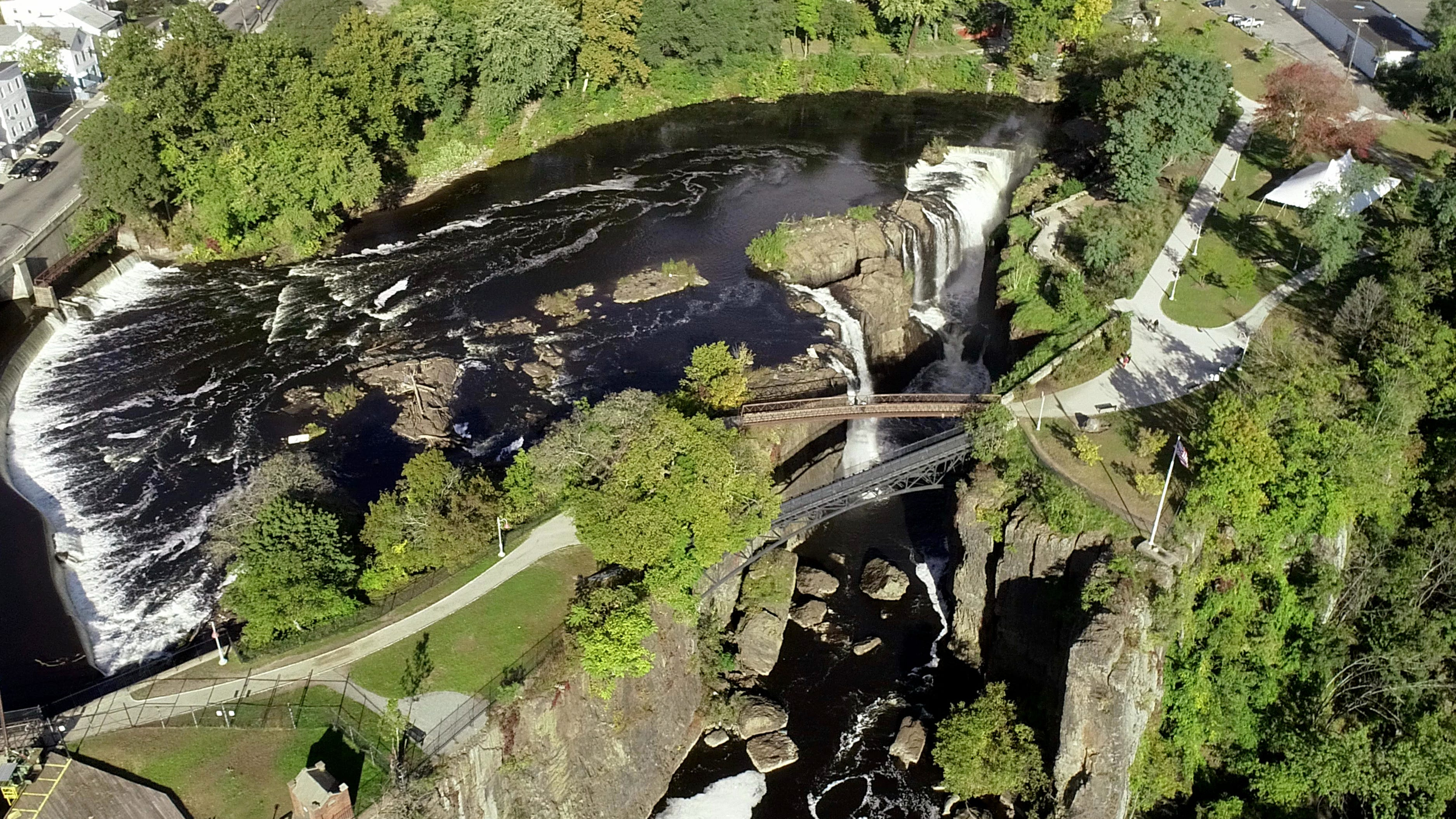 See the Great Falls National Park from above