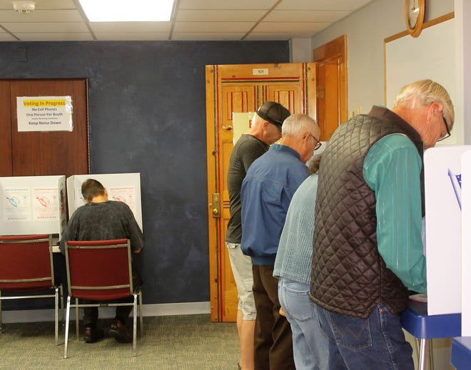 Otero County residents were able to vote early in one of five locations around the county, such as the Otero County Administration Building, as shown here in this Daily News file photo.
