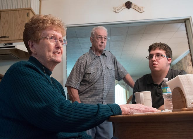 Nancy Sivori Ruby started working elections in the 1960s, Eventually, husband Bill Ruby joined her. Now it's grandson Erik Prosser's turn.