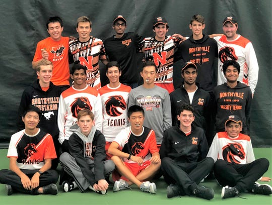 Northville took fourth place in the MHSAA Division 1 boys tennis finals in Midland, matching its highest finish in school history.