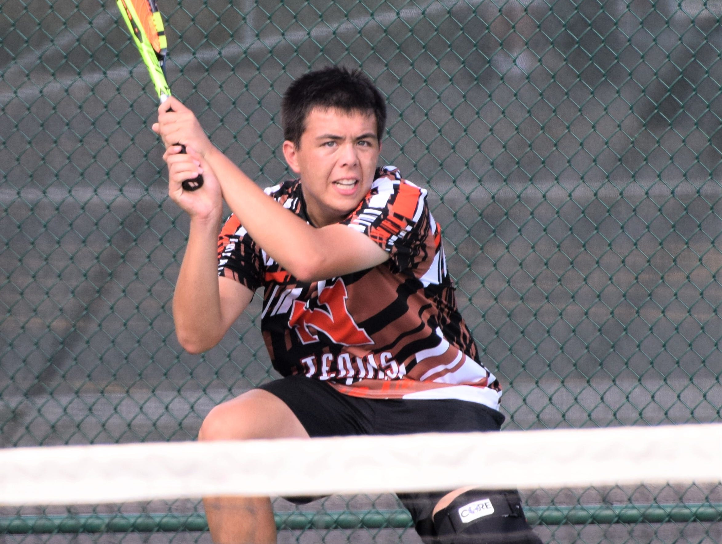Freeman No. 4 singles champ as Northville takes fourth in D1 tennis