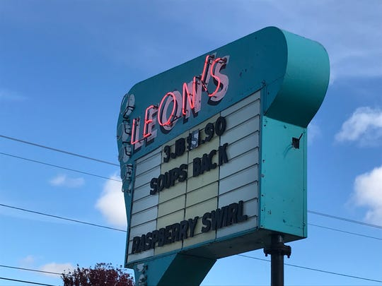 Leon's Frozen Custard opened in 1947. Leon's mother, Anna, owned and operated the store.