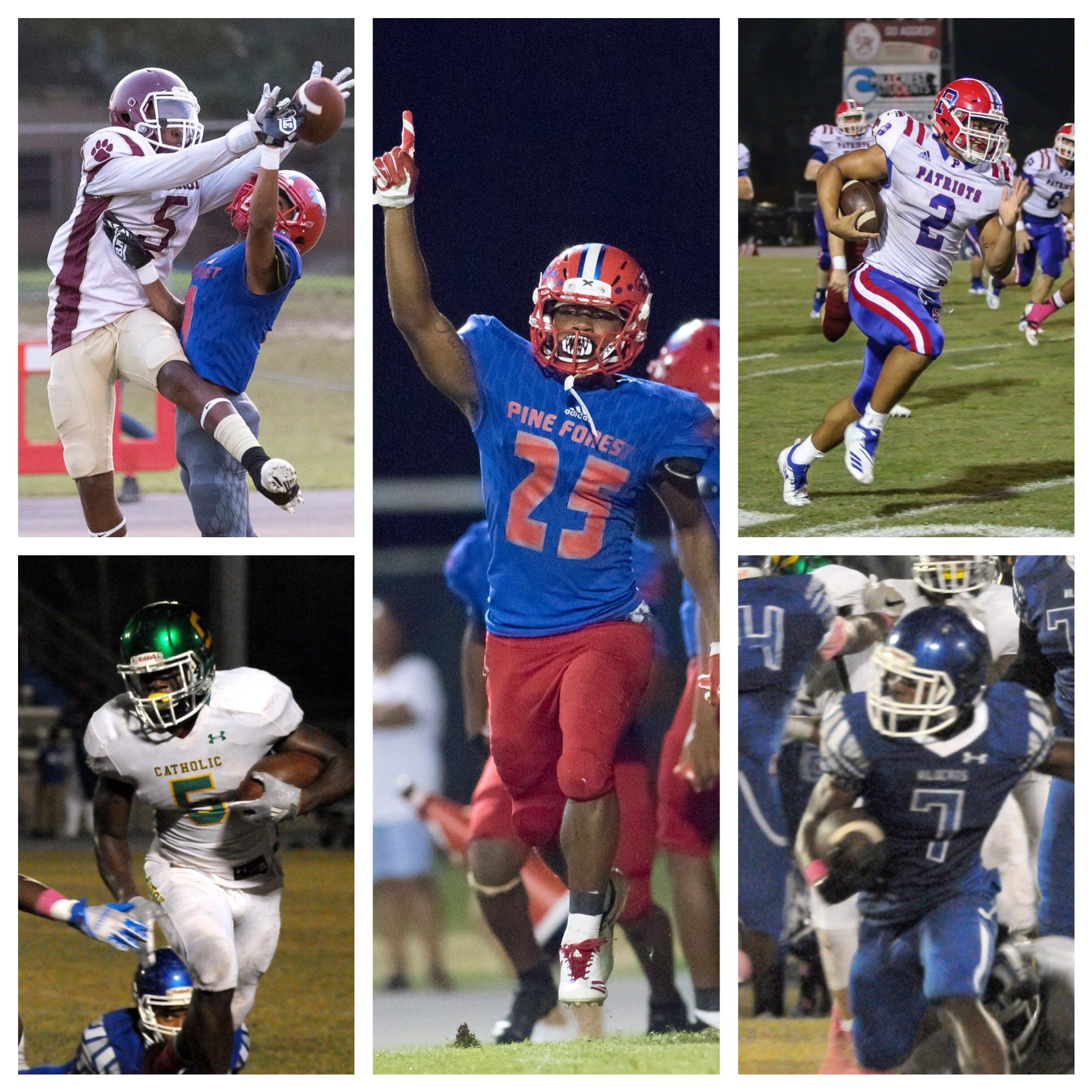 VOTE: PNJ Football Players of the Week (Oct. 23)