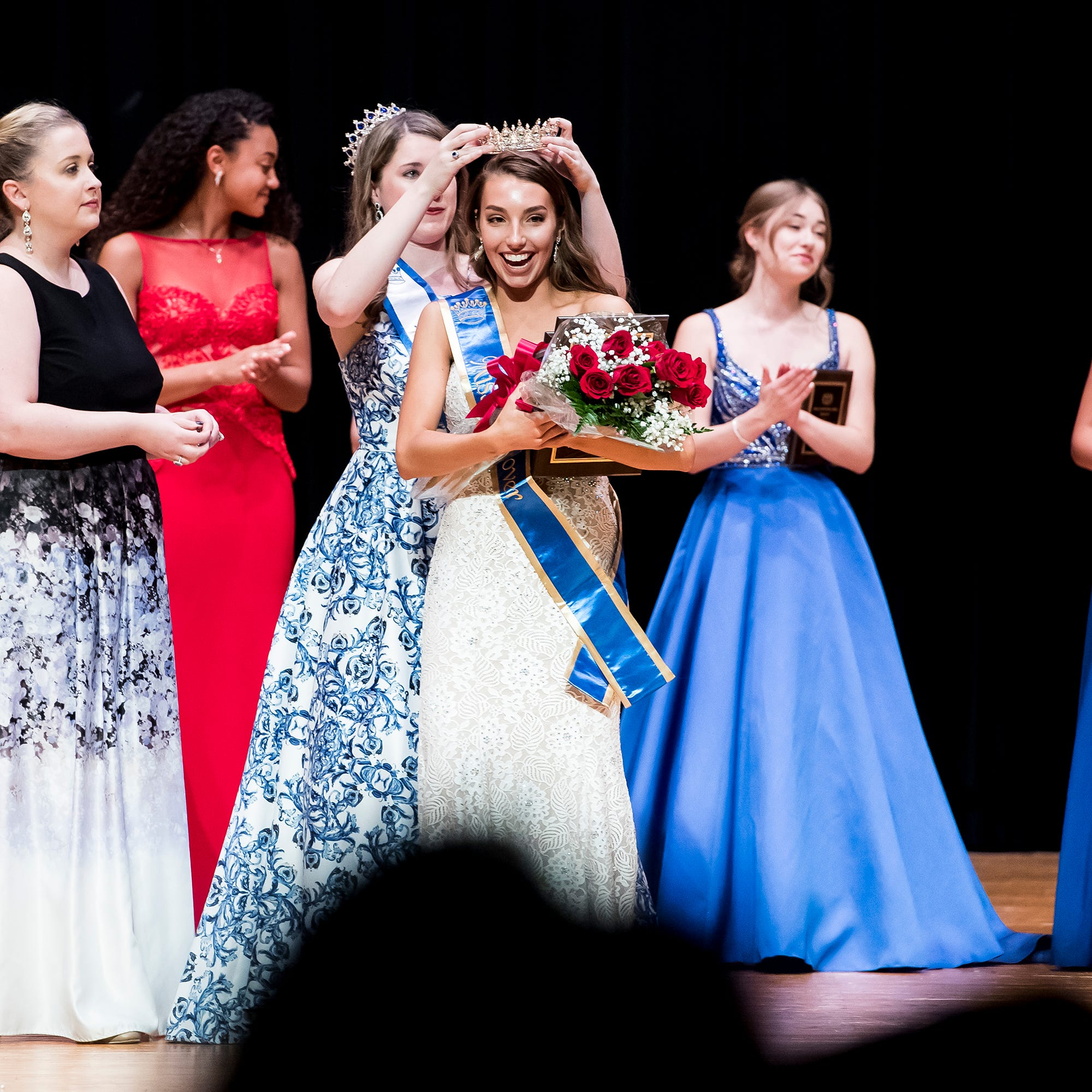 South Western's Madlyn Farley is crowned the 50th Miss Hanover Area on Monday, October 22, 2018.