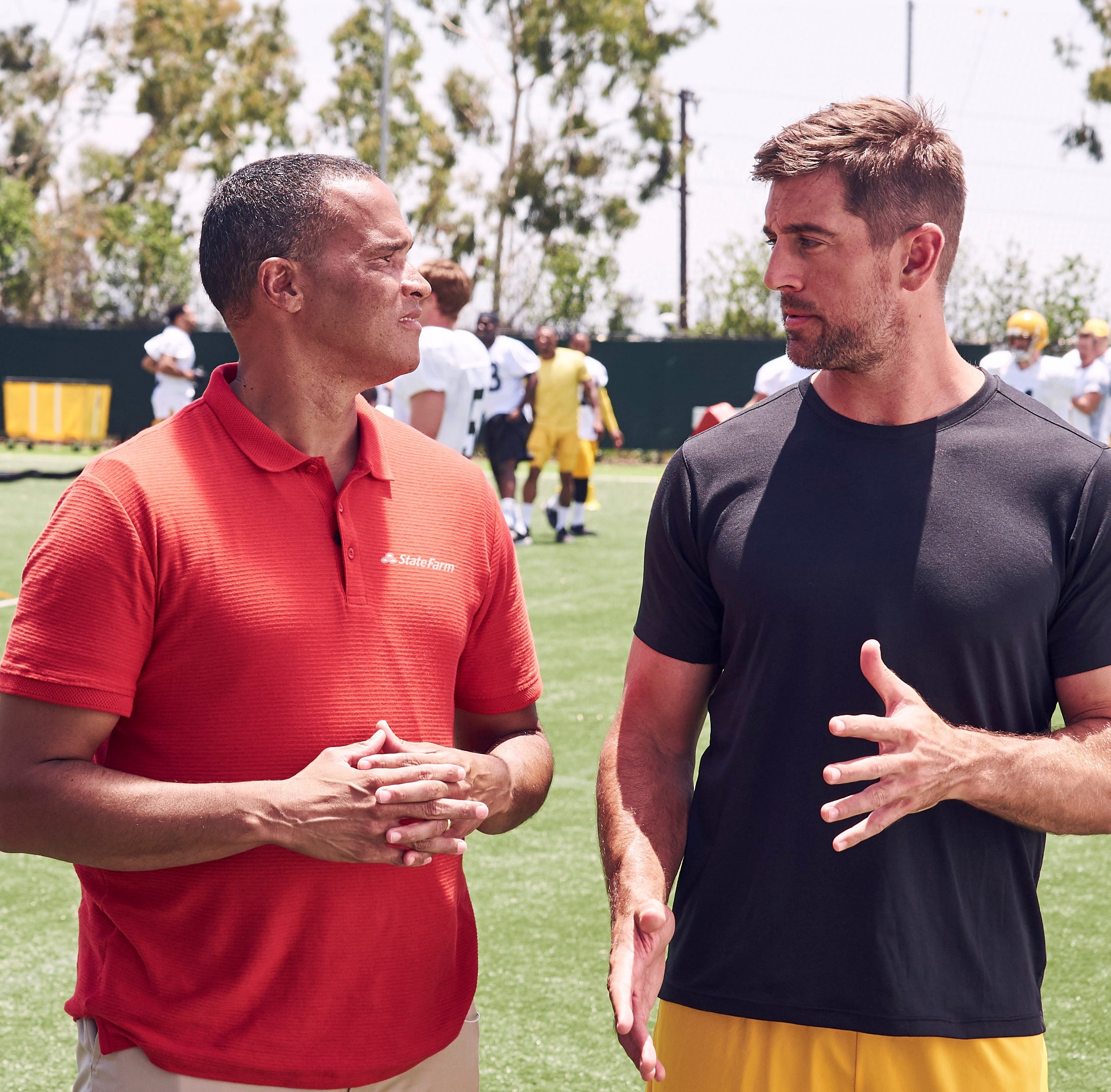 Tempe State Farm agent stars in commercials with NFL QB Aaron Rodgers