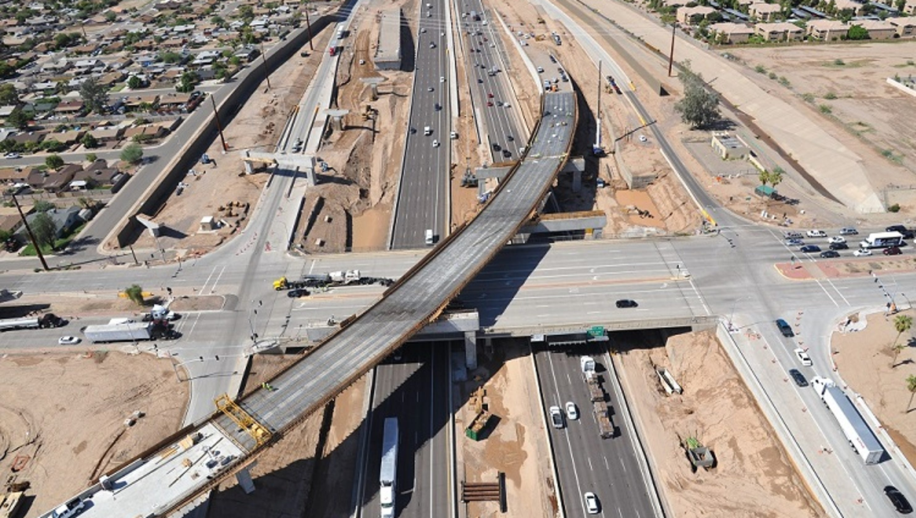 Traffic Map Phoenix Az.Phoenix Area Traffic Interstate 10 Closure Over Weekend