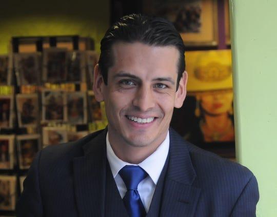 """Marcelino Quiñonez co-wrote and co-stars in """"Dear Senator."""""""
