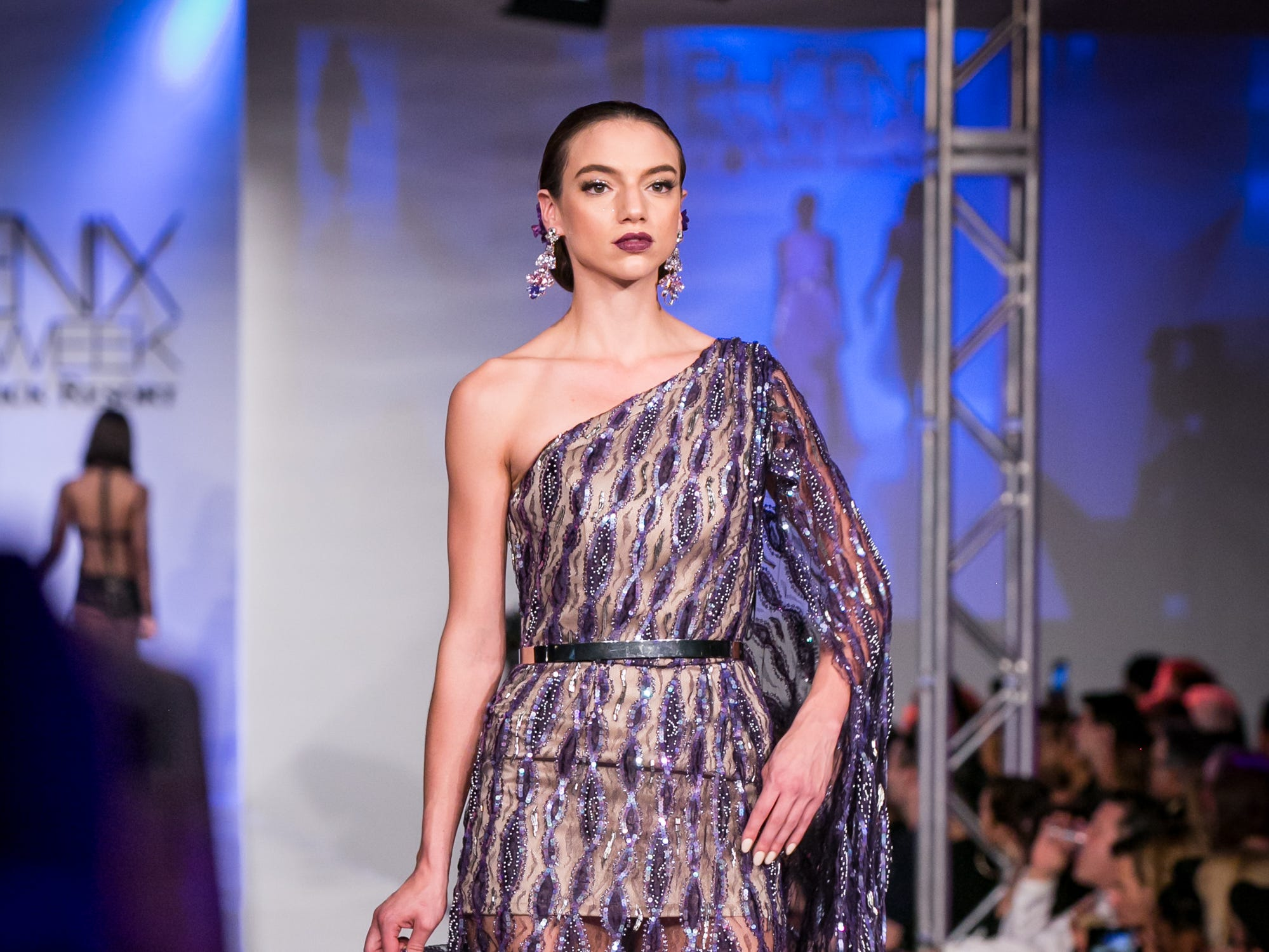 Christine Adar's runway during Phoenix Fashion Week at Talking Stick Resort in Scottsdale on Saturday, October 20, 2018.
