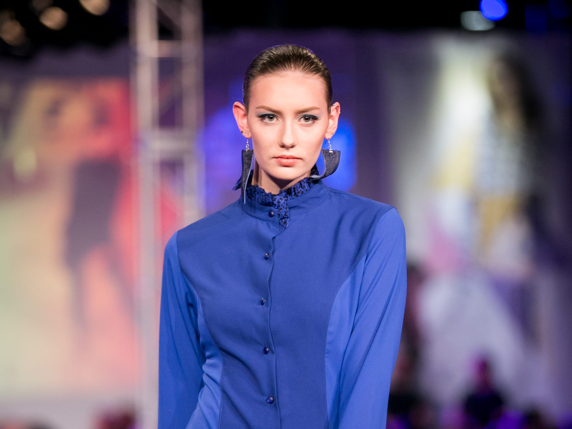 Zelenco's runway during Phoenix Fashion Week at Talking Stick Resort in Scottsdale on Saturday, October 20, 2018.