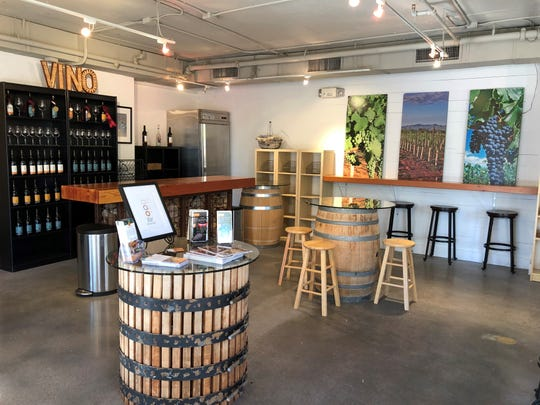The new LDV Winery Tasting Room is now open in downtown Scottsdale.