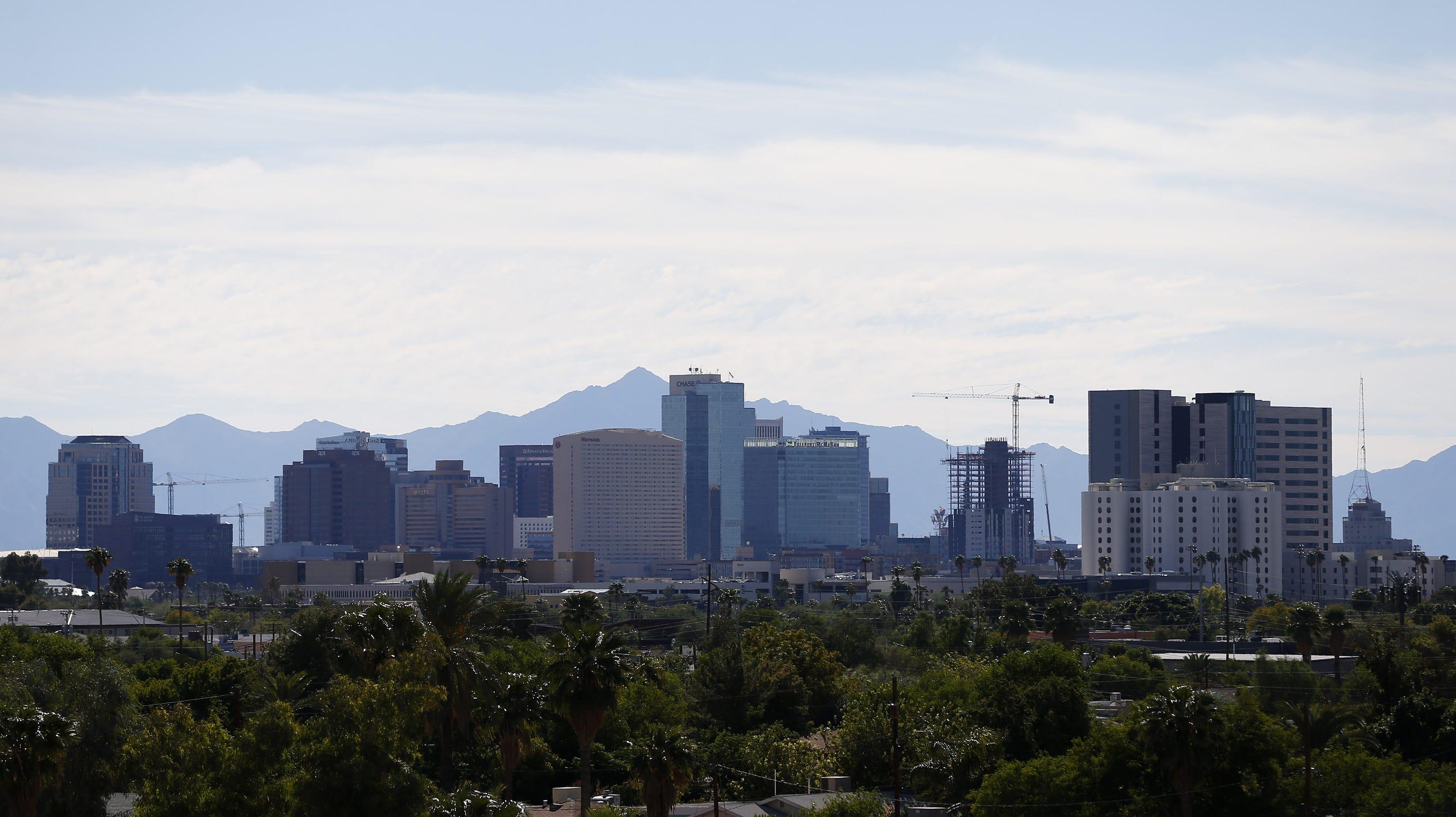 Downtown Phoenix: 'Extraordinary' rebirth brings hope ... on future asia map, future pangea map, future texas map, future florida map, future new york map, future nyc map, future california map, future united states map, future hawaii map,