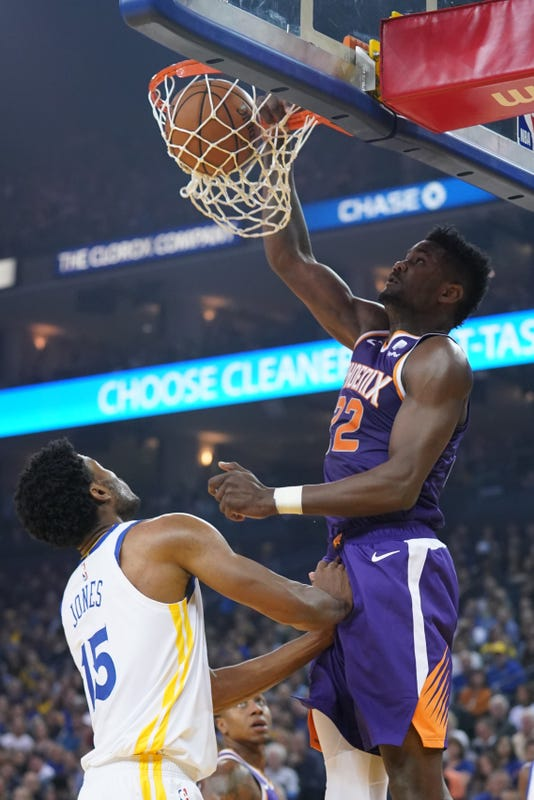 Nba Phoenix Suns At Golden State Warriors