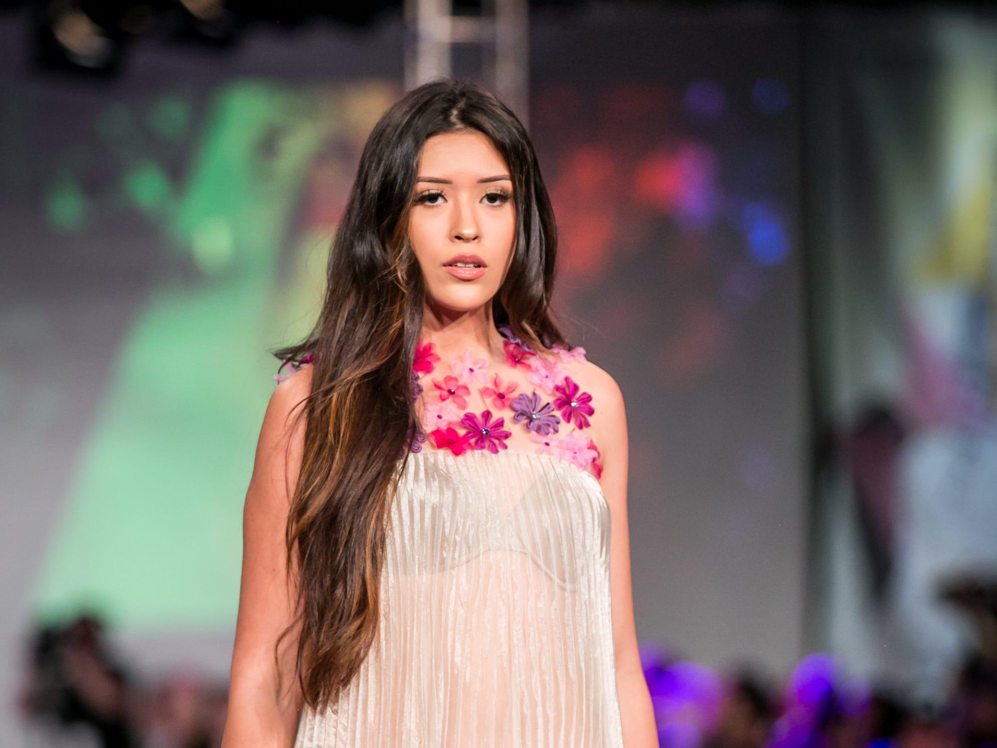 Orlando Dugi's runway during Phoenix Fashion Week at Talking Stick Resort in Scottsdale on Saturday, October 20, 2018.