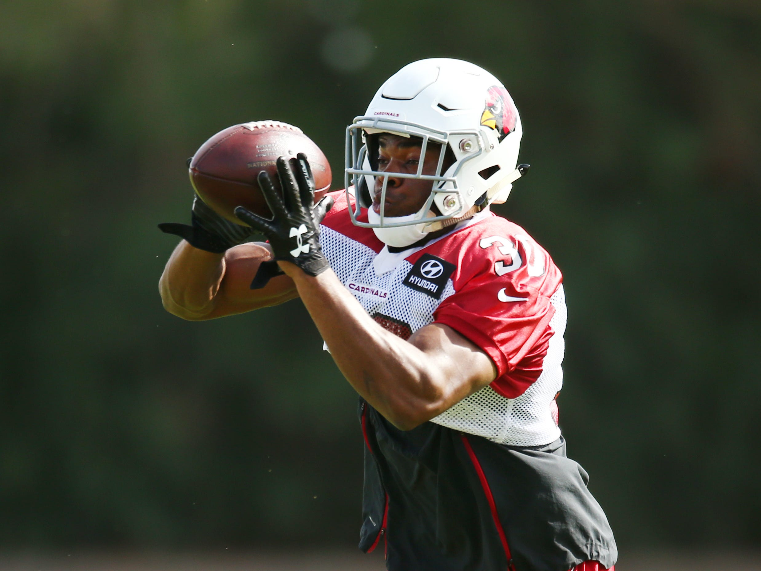 Arizona safety Rudy Ford (30) on Oct. 22 at the Cardinals Training Facility.
