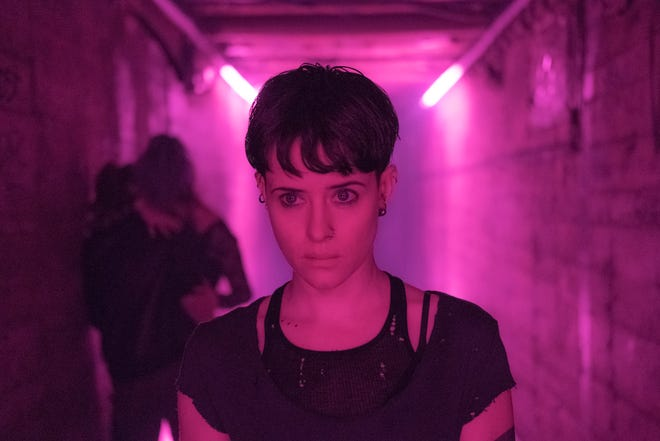 "Lisbeth Salander (Claire Foy) is drawn into an international plot in ""The Girl in the Spider's Web."""