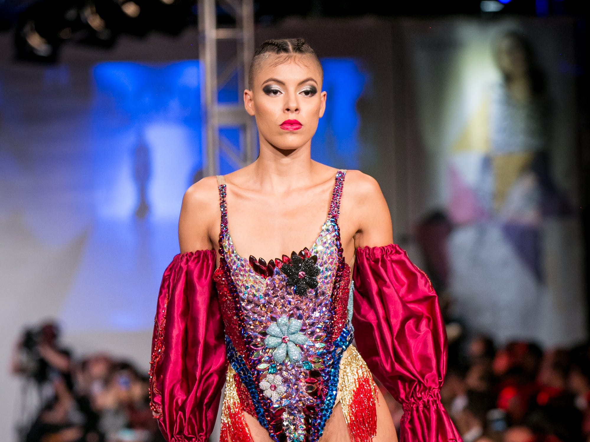 Chau Chic's runway during Phoenix Fashion Week at Talking Stick Resort in Scottsdale on Saturday, October 20, 2018.