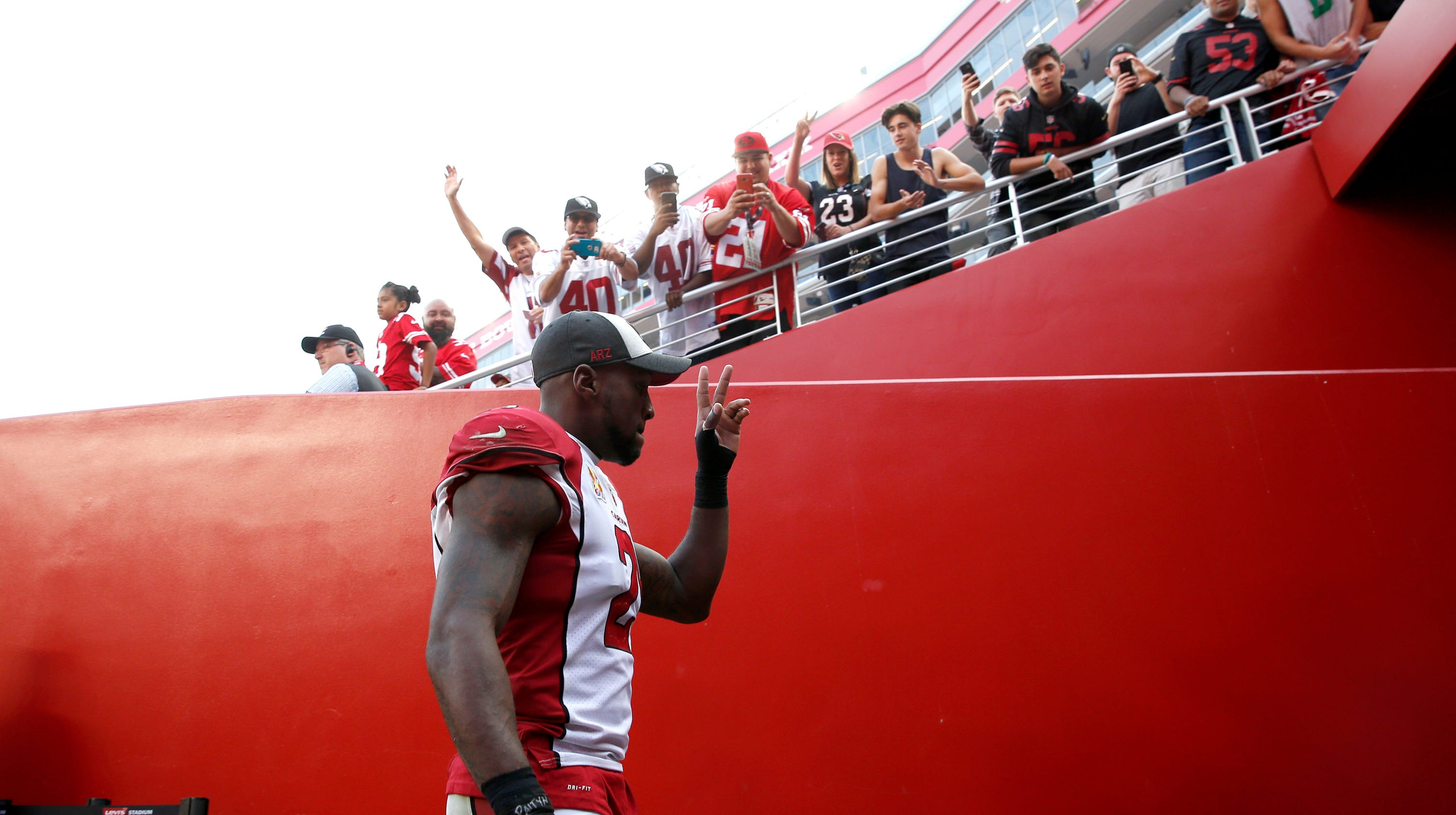 5bacceda8 Patrick Peterson trade rumors  Cardinals cornerback appears to be staying  in Arizona