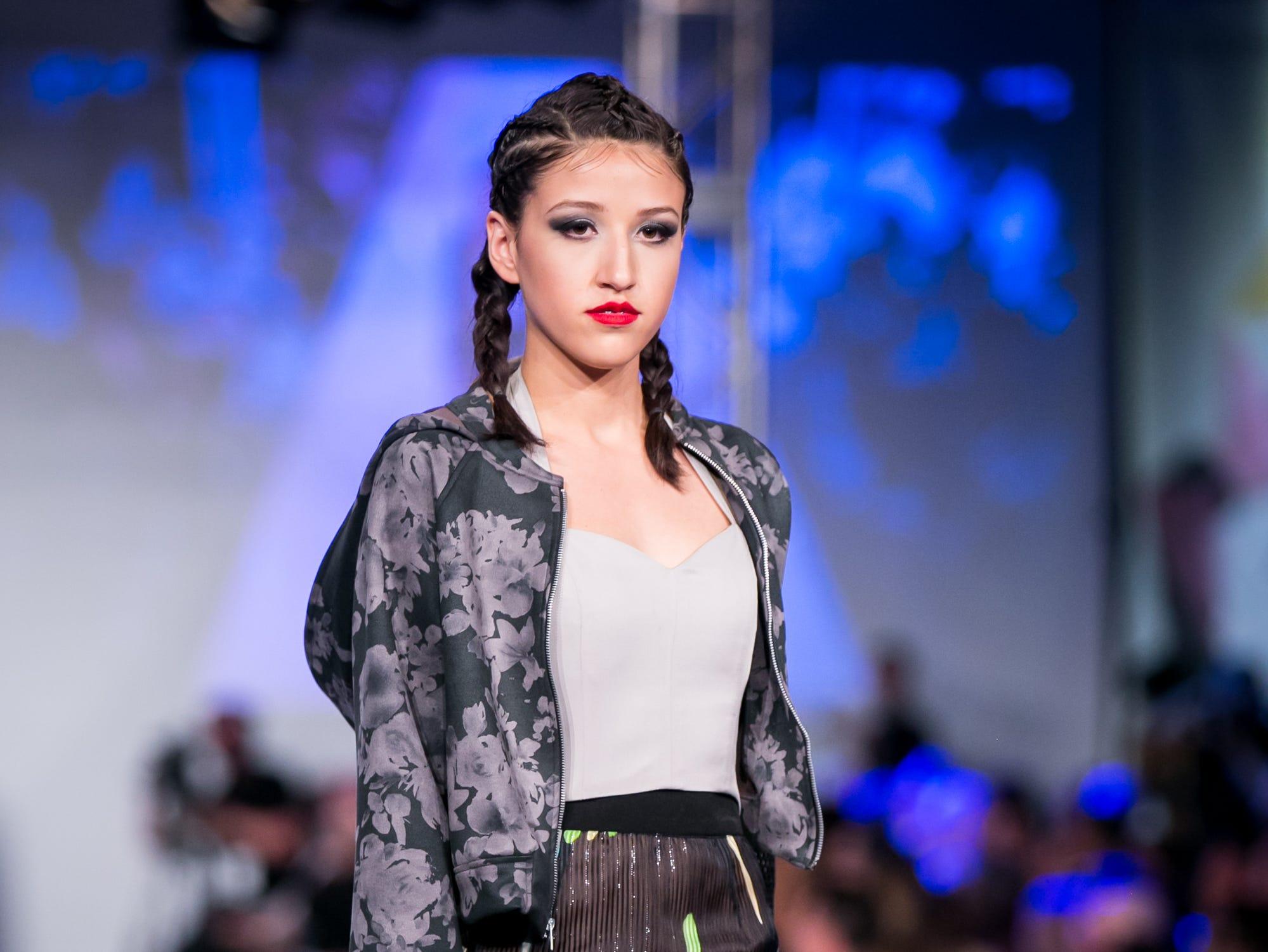 Amanda Casarez's runway during Phoenix Fashion Week at Talking Stick Resort in Scottsdale on Saturday, October 20, 2018.