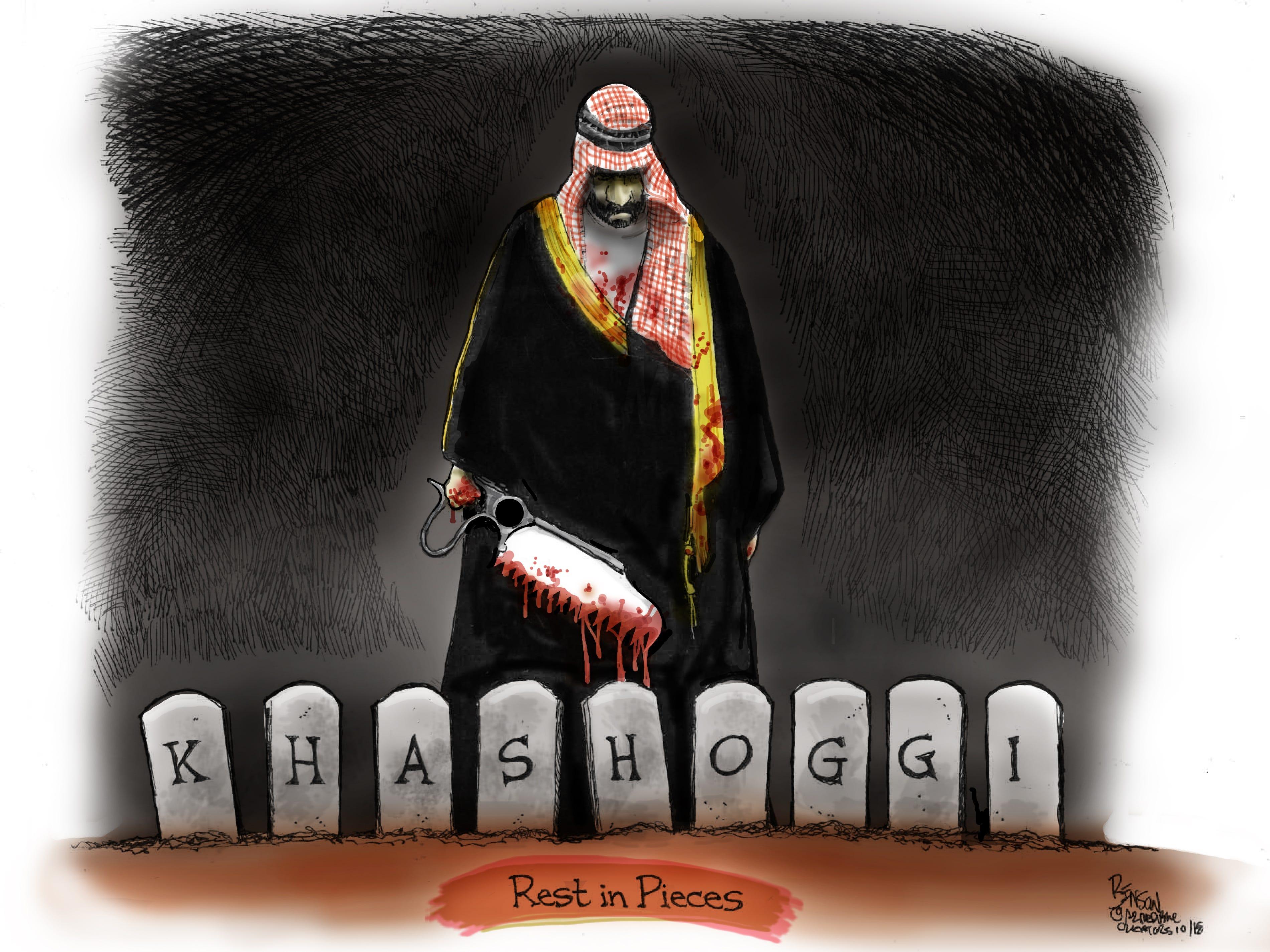 Cartoon for Oct. 23, 2018.