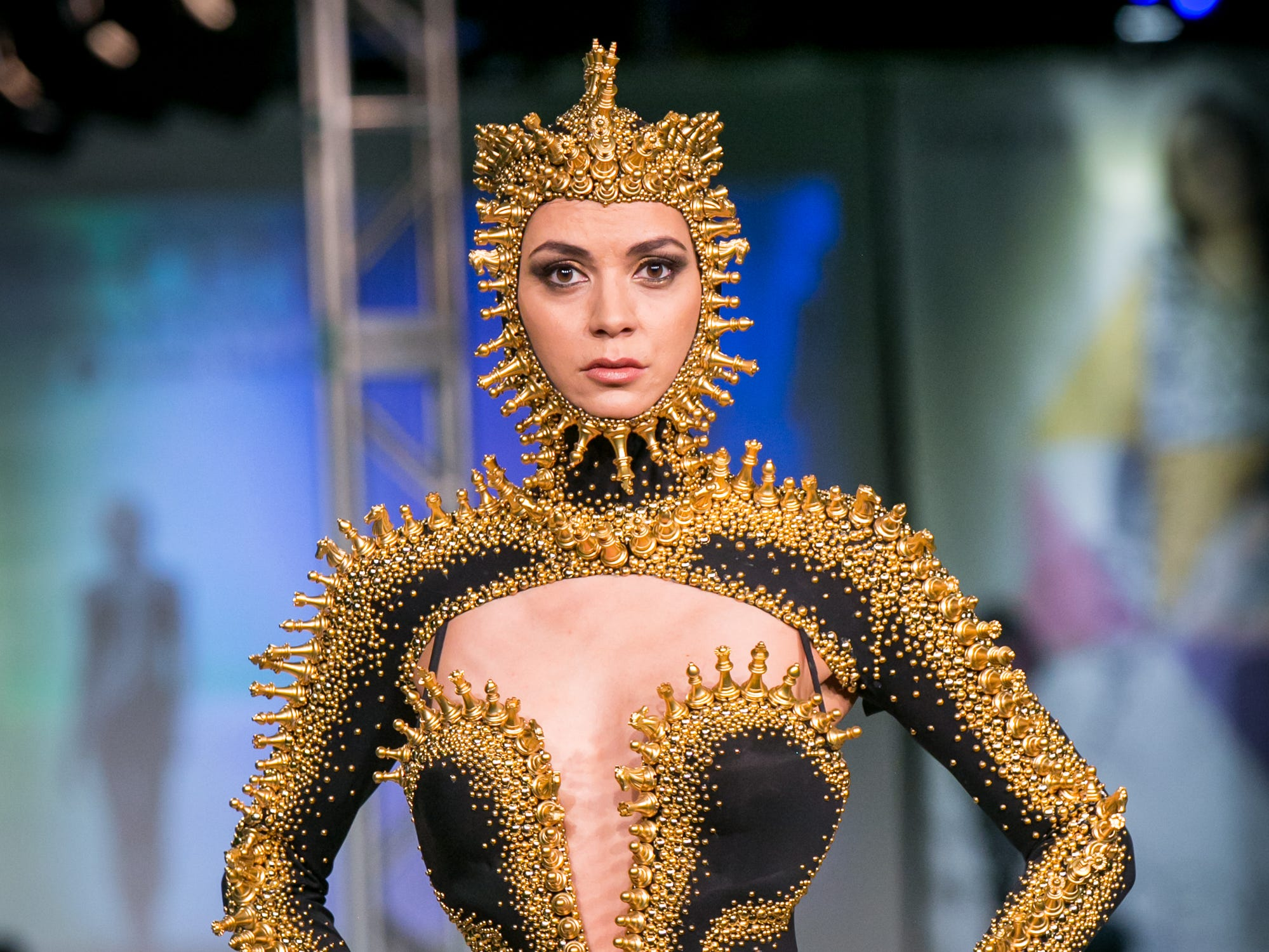 Rocky Gathercole's runway during Phoenix Fashion Week at Talking Stick Resort in Scottsdale on Saturday, October 20, 2018.