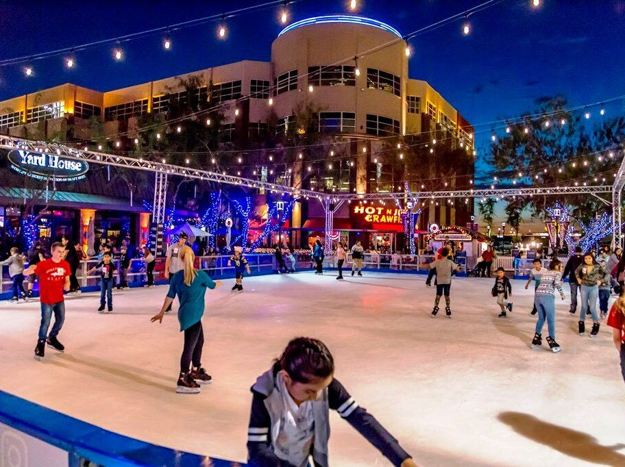 Come ice skate at Westgate's Fountain Park, starting Nov. 3 and continuing through Jan. 13.