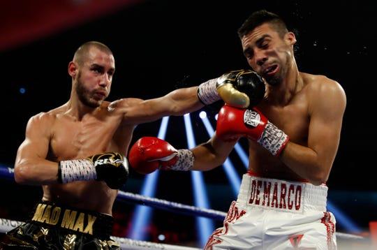 Maxim Dadashev de Rusia derrotó al tijuanense Antonio De Marco.