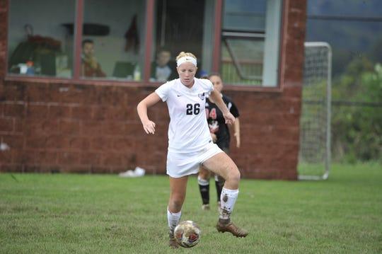 Palmyra grad Nikki Bowman is second on the team in scoring in her freshman season at IUP.
