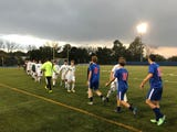 The Spartans defeated the Warriors 1-0 on Tuesday at Middletown's Faller Field.