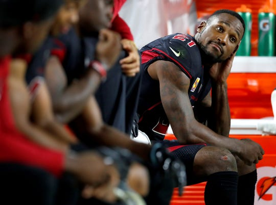 Arizona Cardinals cornerback Patrick Peterson is a possible trade target of the Philadelphia Eagles. AP FILE PHOTO