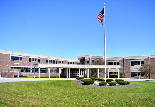 Dallastown Area Middle School in York Township, Tuesday, Oct. 23, 2018. Dawn J. Sagert photo