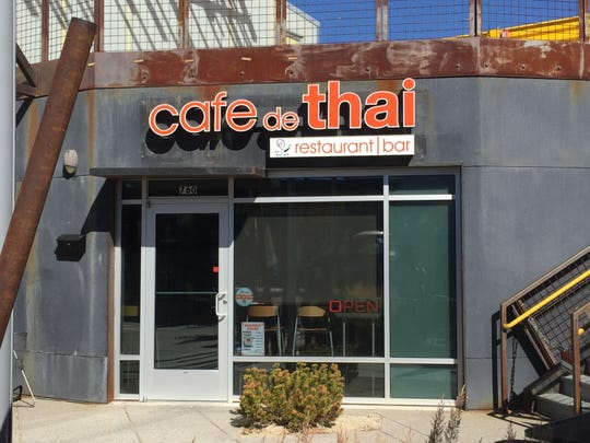 Cafe de Thai Restaurant & Bar recently moved from South Reno to the Sticks development in Midtown Reno.