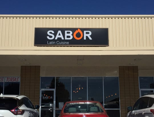 Sabor Latin Cuisine, on East Moana Lane, is in a center that contains two other Latino restaurants.