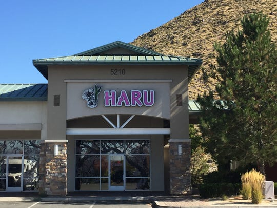 Haru, a new Japanese restaurant, is in the same Longley Lane center as Greatfull Gardens and Butter & Salt.