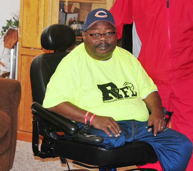 Tommy Williams led the Richmond Youth Football League despite both overcoming several health issues.